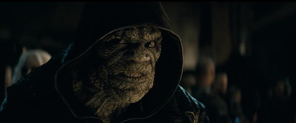 Suicide Squad: Killer Croc nel primo trailer del film