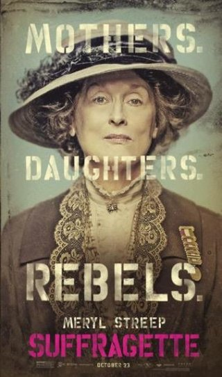 Suffragette: il character poster di Meryl Streep