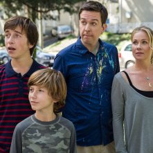 Come ti rovino le vacanze: Ed Helms e Christina Applegate in una scena