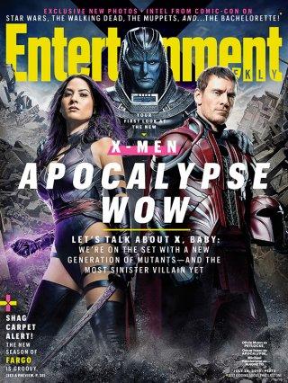 X-Men: Apocalypse - la copertina di EW dedicata al film