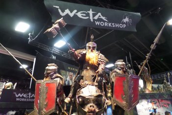 Comic-Con 2015: lo stand WETA all'evento di San Diego