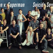 Batman v Superman: Dawn of Justice, Suicide Squad: foto di gruppo al San Diego Comic-Con