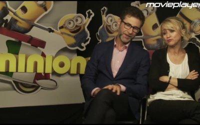 Minions: le interviste alle voci italiane e la masterclass sul doppiaggio