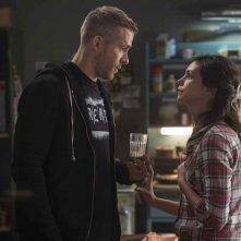 Deadpool: Ryan Reynolds si confronta con Morena Baccarin