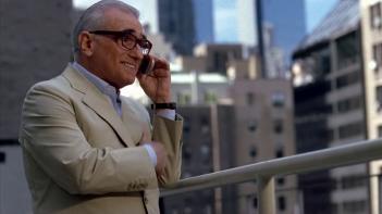 Martin Scorsese in una scena dell'episodio 'Return to Queens Blvd' della quinta stagione di Entourage