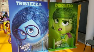 Inside Out: i manifesti di Tristezza e Disgusto a Giffoni Experience