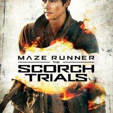The Maze Runner: La Fuga - Il character poster di Dylan O'Brien