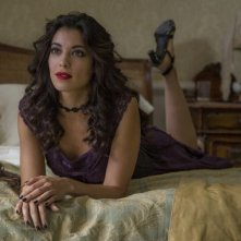 Spectre: l'attrice Stephanie Sigman in una scena del film