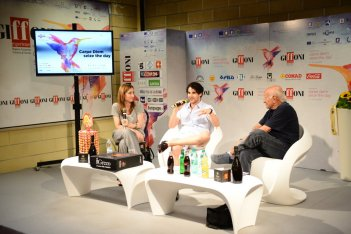 Darren Criss all'incontro stampa di Giffoni 2015