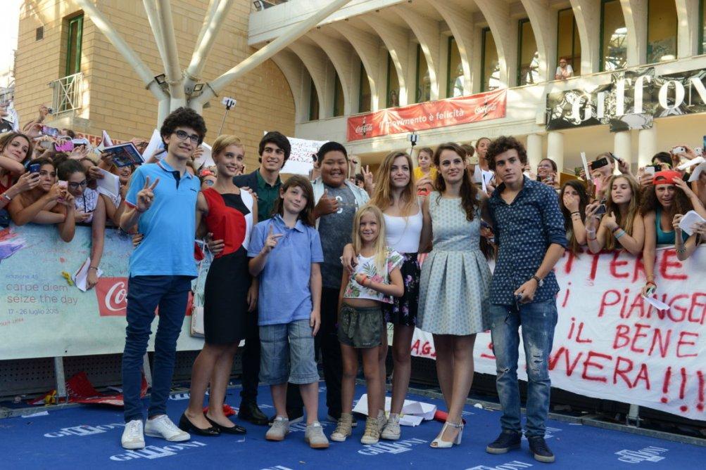 Braccialetti Rossi: il cast a Giffoni 2015