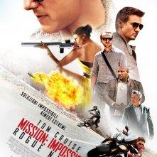 Locandina italiana di Mission: Impossible - Rogue Nation