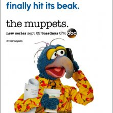 The Muppets: il character poster di Gonzo