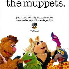 The Muppets: il poster dedicato ai protagonisti