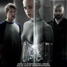 Ex Machina: il character poster italiano di gruppo del film