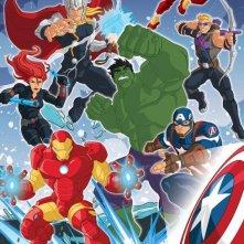 Marvel's Avengers Assemble: il poster della serie