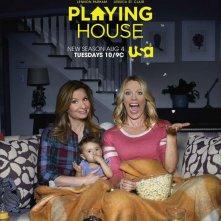 Playing House: il poster della seconda stagione