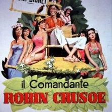 Locandina di Il comandante Robin Crusoe