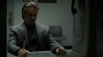 True Detective: Colin Farrell in una scena della puntata intitolata Church in Ruins