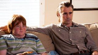 True Detective: Trevor Larcom e Colin Farrell in Church in Ruins