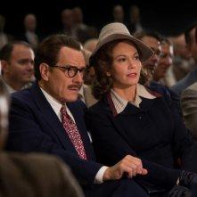 Trumbo: Bryan Cranston e Diane Lane in una scena del film