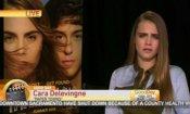 'Cara Delevingne, fatti un pisolino!' programma tv maltratta l'attrice