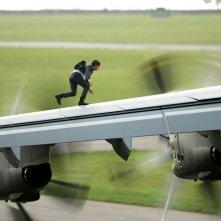 Mission: Impossible - Rogue Nation: Tom Cruise in azione in una scena