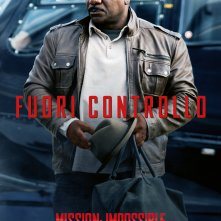 Mission: Impossible - Rogue Nation, il character poster italiano di Ving Rhames