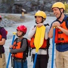 Come ti rovino le vacanze: Christina Applegate, Ed Helms, Skyler Gisondo e Steele Stebbins in una scena