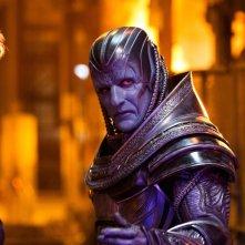 X-Men: Apocalypse - Alexandra Shipp, Oscar Isaac e Olivia Munn in una foto tratta dal film