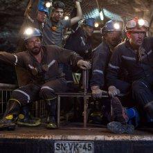 Los 33: Antonio Banderas e il resto del team dei minatori