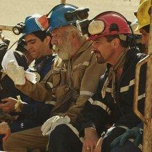 Los 33: Antonio Banderas e i colleghi seduti