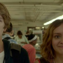 Me and Earl and the Dying Girl: Thomas Mann e Olivia Cooke in una scena