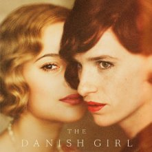 The Danish Girl - Eddie Redmayne con Alicia Vikander in un manifesto