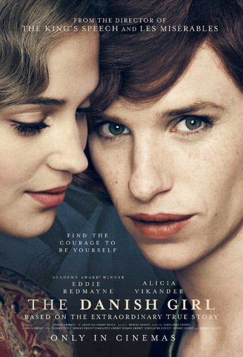 The Danish Girl - Eddie Redmayne con Alicia Vikander nei primi poster