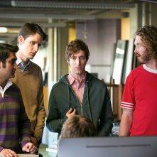 Una scena di Silicon Valley