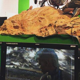 X-Men: Apocalypse - Alexandra Shipp in un momento delle riprese