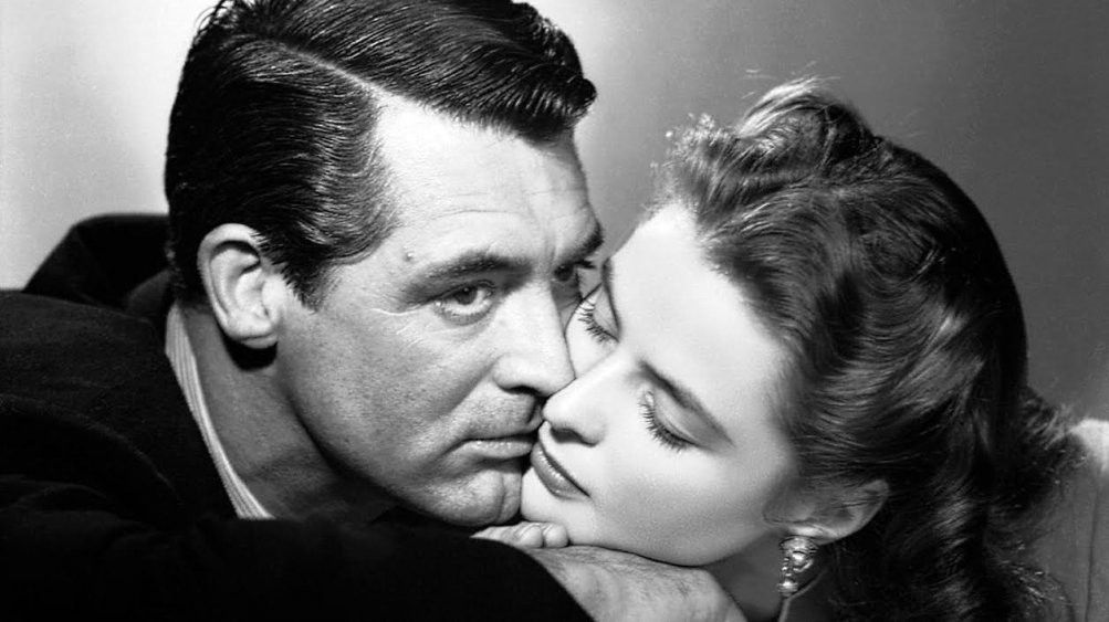 Cary Grant e Ingrid Bergman in Notorious
