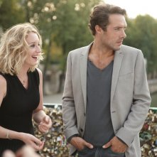 Love Is in the Air - Turbolenze d'amore: Ludivine Sagnier e Nicolas Bedos in un'immagine tratta dal film