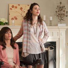 Qualcosa di buono: Hilary Swank ed Emmy Rossum in un momento del film