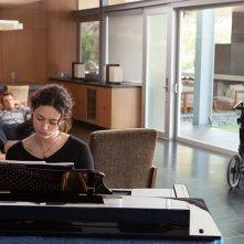 Qualcosa di buono: Emmy Rossum, Josh Duhamel e Hilary Swank in una scena del film