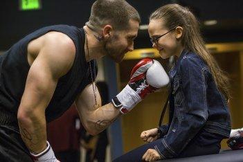 Southpaw - L'ultima sfida: Jake Gyllenhaal insieme alla piccola Oona Laurence