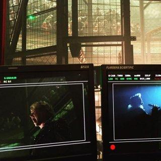 X-Men: Apocalypse - Una foto rivela la lavorazione di una scena con protagonista Angel