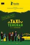 La locandina italiana di Taxi Teheran