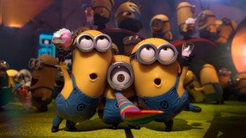 Minions: un'immagine festosa del film animato