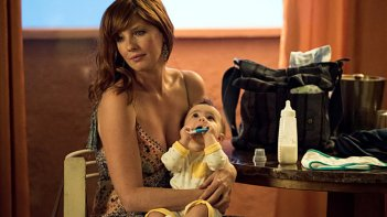 True Detective: l'attrice Kelly Reilly in un'immagine di Omega Station