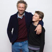 Partisan: Vincent Cassel e Jeremy Chabriel in una foto promozionale del film