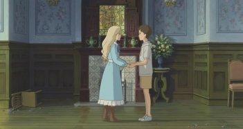 Quando c'era Marnie: Anna e Marnie in un'immagine del film d'animazione