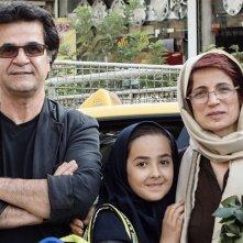 Taxi Teheran: Jafar Panahi e altri due protagonisti del film in un'immagine promozionale