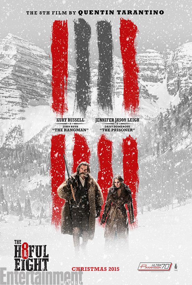 The Hateful Eight: una nuova locandina del poster di Quentin Tarantino