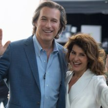 My Big Fat Greek Wedding 2: John Corbett e Nia Vardalos in una scena del film